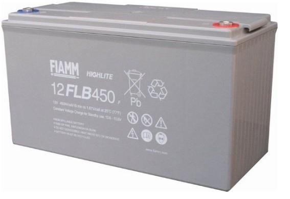 Fiamm HighLite 12FLB450P 12V 120Ah AGM Blei-Vlies 10-12 Jahres-Batterie