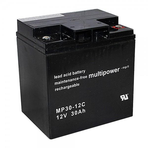 Multipower MP30-12C / 12V 30Ah Blei Akku Zyklentyp