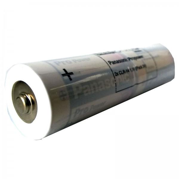 Batteriepack Alkaline Panasonic Pro Power L2x1 Baby C 3V