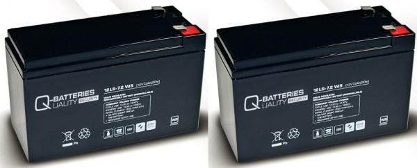 Ersatzakku für APC Smart-UPS SUA750RMI2U RBC 22 / Markenakku mit VdS