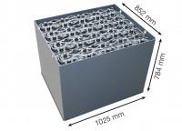 Q-Batteries 80V Gabelstaplerbatterie 5 PzS 775 DIN A (1025 x 852 x 784) Trog 57019024 inkl. Aquamati