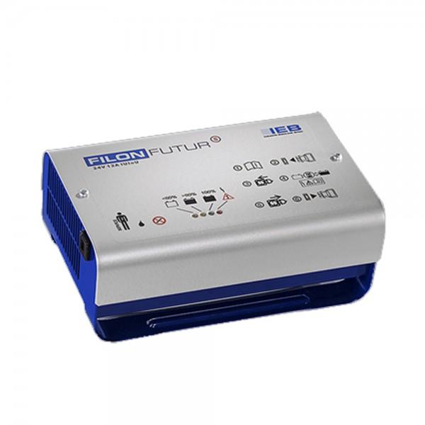 IEB Filon Futur S E230 G24/12 B65-FP (AC-Netz) für Blei Akku 24V 12A Ladestrom XLR-Stecker