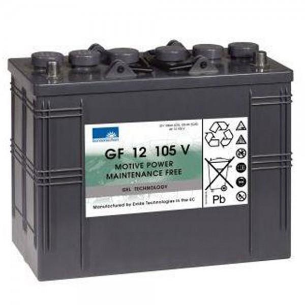 Ersatzakku für Scheuersaugmaschine Nilfisk Floortec R 560 B Gel Batterie 12V 105Ah (C5)