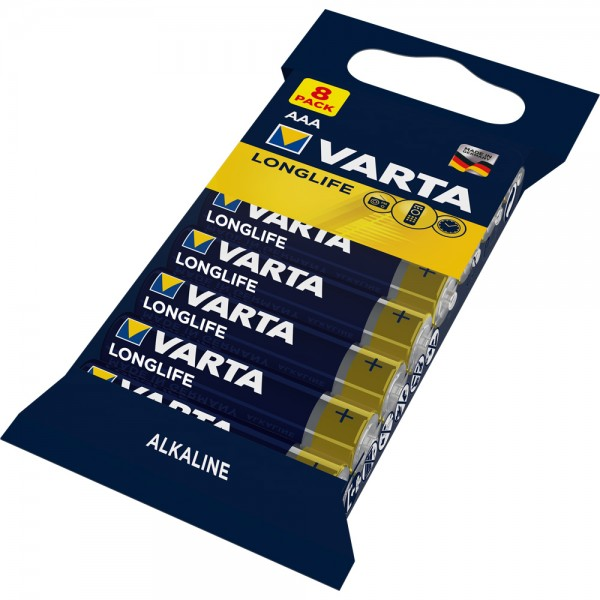 Varta Longlife Micro AAA Batterie 4103 (8er Folie)