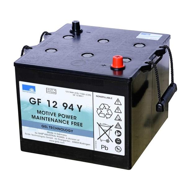 Exide Sonnenschein GF 12 094 Y dryfit Blei Gel Antriebsbatterie 12V 93,5Ah (5h) VRLA