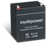 Multipower MP4,5-12 / 12V 4,5Ah Blei Akku AGM