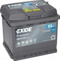 Exide EA530 Premium Carbon Boost 12V 53Ah 540A Autobatterie