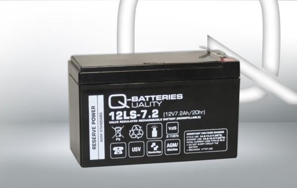 Ersatzakku für AIPTEK PowerWalker VFD 600 / Markenakku mit VdS