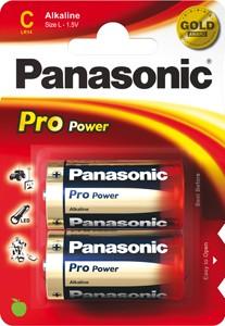 Panasonic Pro Power LR14 Baby C Alkaline Batterie (2er Blister)