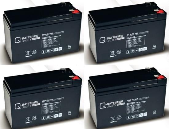 Ersatzakku für APC Smart-UPS SU1000RMI2U RBC23 RBC 23 / Markenakku mit VdS