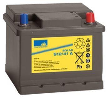 Exide Sonnenschein Solar S12/41 A Blei-Gel Batterie 12V 41Ah