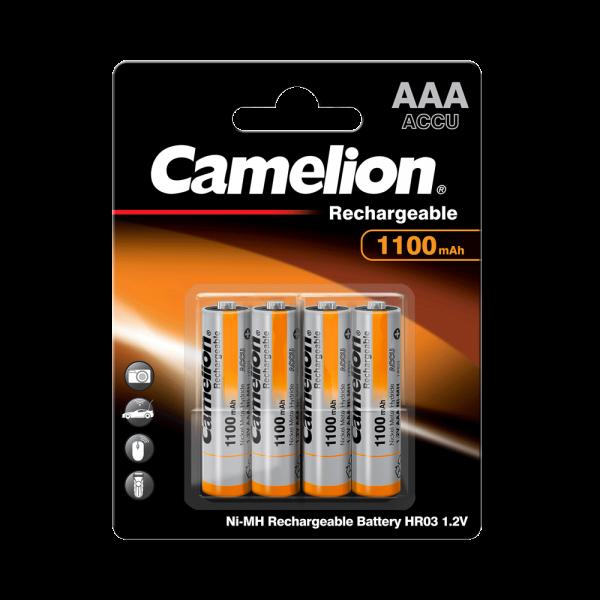 Camelion Akku Micro AAA 1100mAh NiMH (4er Blister)