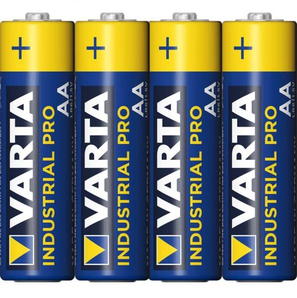 Varta Industrial Pro Mignon AA Batterie 4006 (4er Folie)