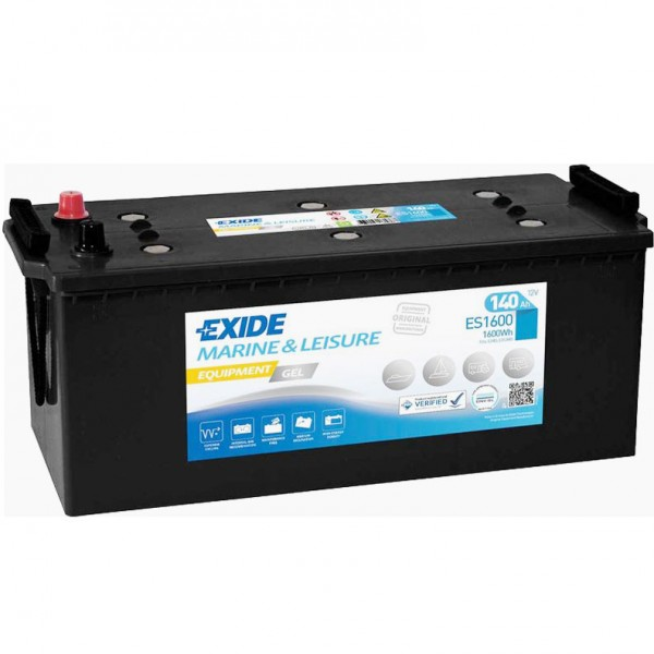 Exide ES1600 Equipment Gel 12V 140Ah G140 Versorgungsbatterie