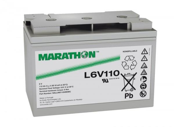 Exide Marathon UL6V110 6V 112Ah AGM Blei Akku VRLA