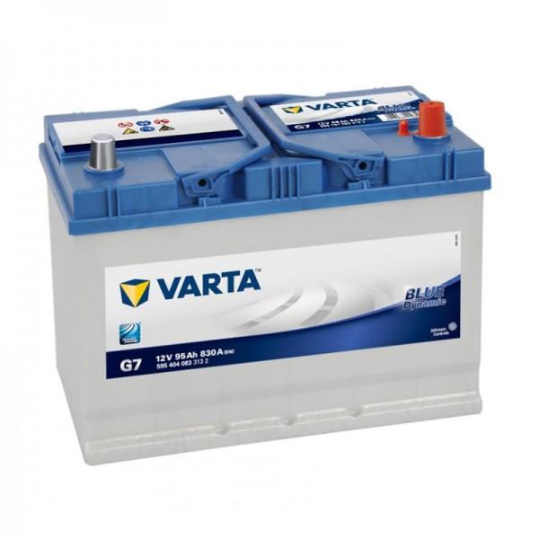 VARTA G7 Blue Dynamic 12V 95Ah 830A Autobatterie 595 404 083