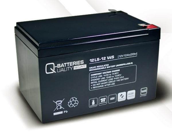 Ersatzakku für APC Back-UPS Pro BP650SI RBC4 RBC 4 / Markenakku mit VdS