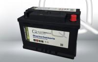 Q-Batteries Starterbatterie 574 68P Q74P 12V 74Ah 680A, wartungsfrei