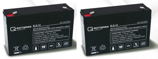 Ersatzakku für APC Back-UPS BK450 RBC3 RBC 3 / Markenakku mit VdS
