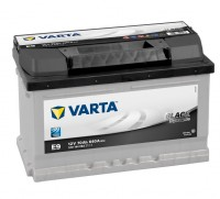 VARTA E9 Black Dynamic 12V 70Ah 640A Autobatterie 570 144 064