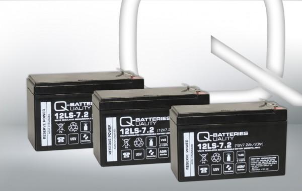 Ersatzakku für AIPTEK PowerWalker VFI 1000 LCD / Markenakku mit VdS