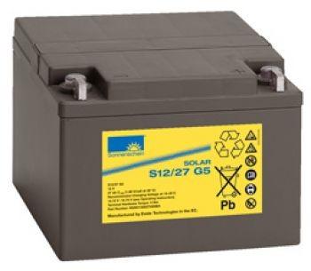 Exide Sonnenschein Solar S12/27 G5 Blei-Gel Batterie 12V 27Ah