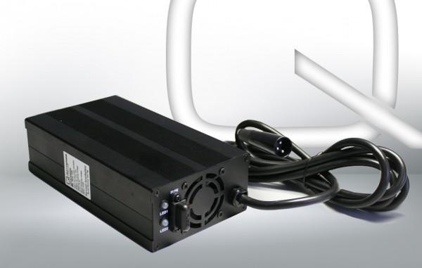 Q-Batteries BL 24-10 Ladegerät XLR-Stecker für Bleiakkus 24V - 10A Ladestrom IU0U Ladekennlinie