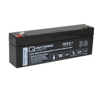 Q-Batteries 12LS-2.1 12V 2,1Ah Blei-Vlies Akku / AGM VRLA VRLA mit VdS