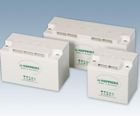 Hoppecke grid power VR M 12-50 12V 53Ah (C10) verschlossene Bleibatterie VRLA für ELA