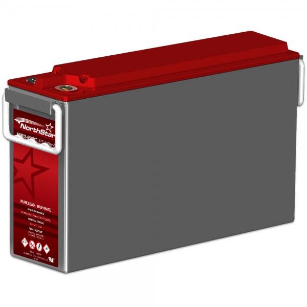 Northstar Red NSB 12-650RT - ACE 12V 649 Watt / Zelle (15 Min. 1,67V bei 25°C) AGM Batterie