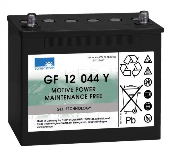 Exide Sonnenschein GF 12 044 Y dryfit Blei Gel Antriebsbatterie 12V 44Ah (5h) VRLA