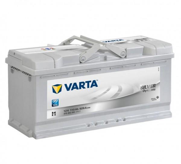 VARTA I1 Silver Dynamic 12V 110Ah 920A Autobatterie 610 402 092