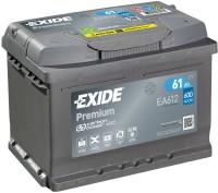 Exide EA612 Premium Carbon Boost 12V 61Ah 600A Autobatterie