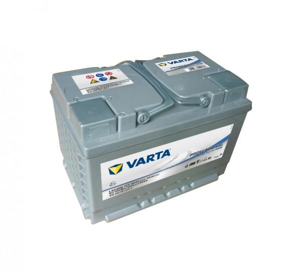 Varta LAD60B Professional DC AGM Batterie 12V 60Ah 830060051