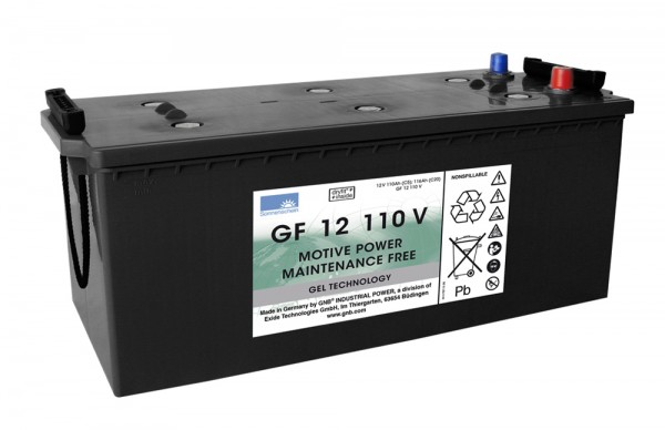 Exide Sonnenschein GF 12 110 V dryfit Blei Gel Antriebsbatterie 12V 110Ah (5h) VRLA