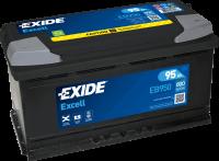 Exide EB950 Excell 12V 95Ah 800A Autobatterie