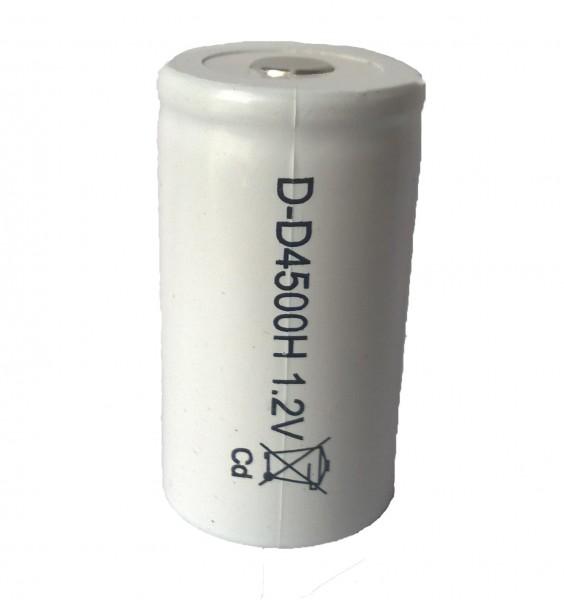 NiCd D Zelle 4500mAh Hochtemperatur
