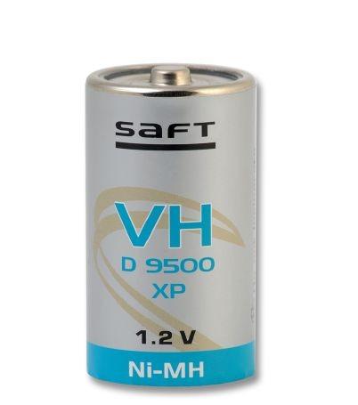 Saft VH D 9500 XP 1,2V 9500mAh NiMH D-Zelle 58,2 H x 32,15Ø mm