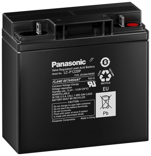 Panasonic LC-P1220P 12V 20Ah Blei-Akku AGM