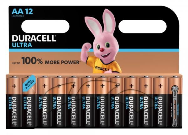 Duracell ULTRA LR6 Mignon AA Batterie MX 1500 (12er Blister)