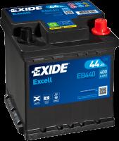 Exide EB440 Excell 12V 44Ah 400A Autobatterie
