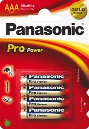 Panasonic Pro Power LR03 Micro AAA Alkaline Batterie (4er Blister)