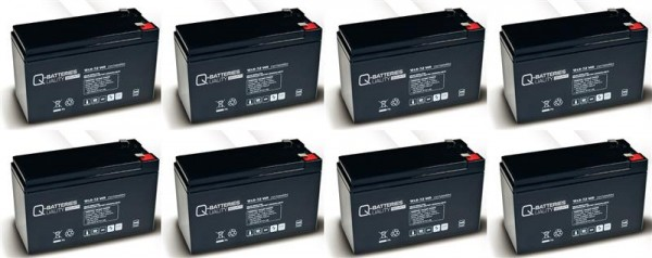 Ersatzakku für APC HP Smart-UPS NS APC3RA RBC12 RBC 12 / Markenakku mit VdS