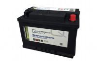 Q-Batteries Autobatterie Q74P 12V 74Ah 680A, wartungsfrei