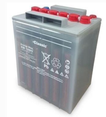 Exide Classic Energy Bloc EB 1260 Bleibatterie 12V 61Ah für USV