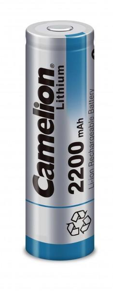Camelion AA Lithium-Ion Akku 3.7V 2200mAh ICR18650F-22 Flattop UN 3090 - SV188