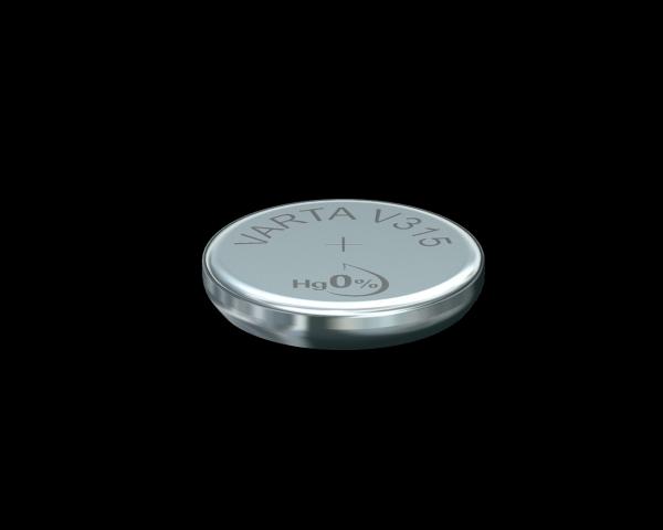Varta Watch V315 SR67 1,55 V Uhrenbatterie 23mAh (1er Blister)