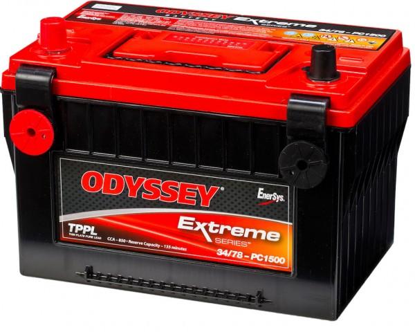 Hawker Odyssey PC1500-34/78 12V 68Ah 850A AGM Starterbatterie und Versorgungsbatterie Reinblei