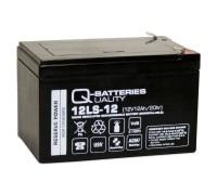 Q-Batteries 12LS-12 F2 12V 12Ah Blei-Vlies-Akku / AGM VRLA mit VdS