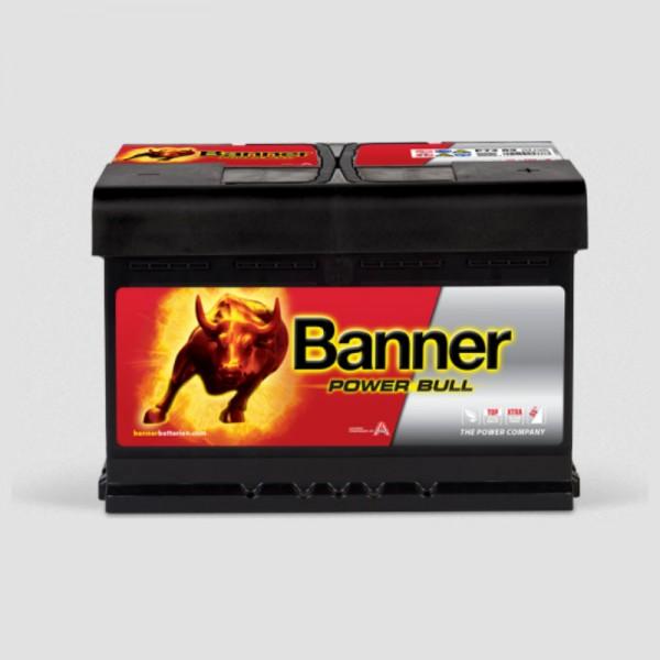 Banner P7209 Power Bull 12V 72Ah 660A Autobatterie